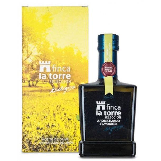 Økologisk olivenolie med citron 0,25L